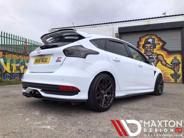 Adding Aggression And Style To Your Car The Photo Says It All Side Skirt Diffusers Rear Diffuser Spoiler Extens Ford Focus St Ford Focus Ford Fiesta St
