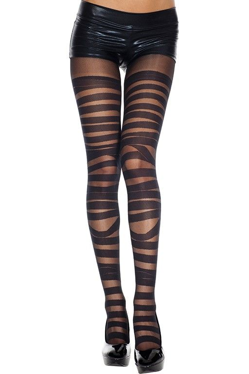 #MusicLegs #StaySexy   https://www.fifty-6.com/en/catalog/clothing/music-legs/hosiery/bandage-pantyhose-0 Cod.: ml7296 Bandage Pantyhose Spandex sheer & opaque bandage design pantyhose Color: Black Sizes: One Size Material: 100% nylon