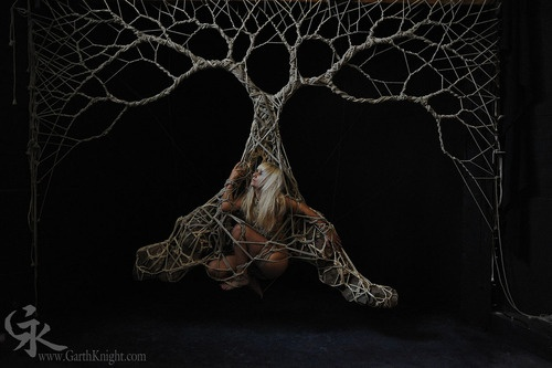 Rope tree: Ropes Trees, Ropes Bondage, Japanese Ropes, Japan Ropes, Erotic Bondage Art, Shibari Trees, Ropes Art, Bdsm Art, Garth Knights