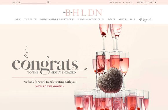 Font News Font ID: BHLDN uses a display serif font with swash lette...