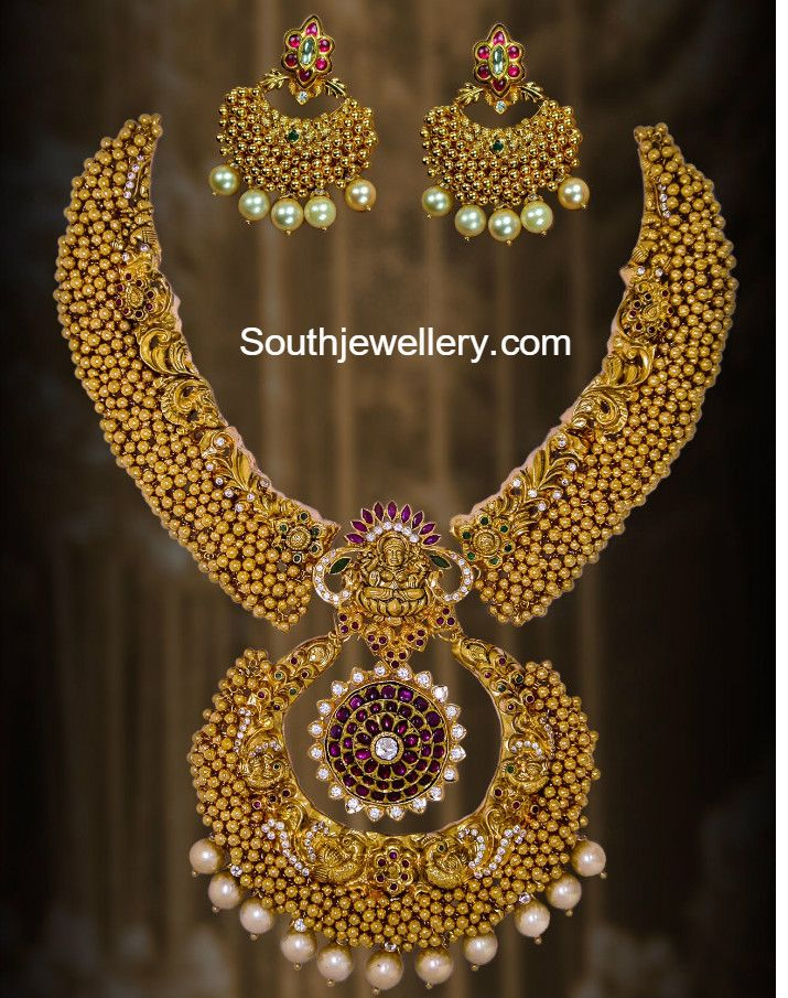 Antique Ghungroo Necklace Set photo