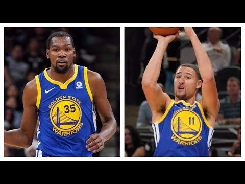 Kevin Durant and Klay Thompson Score 51 in Win vs. Spurs | November 2, 2017 - YouTube