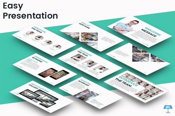 Easy - Keynote Template by inspirasign on @creativemarket