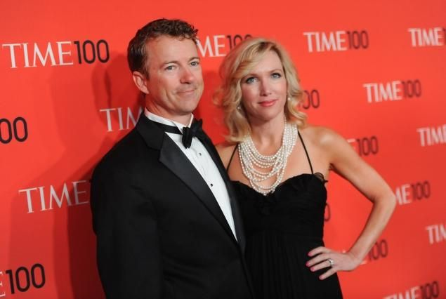 Outspoken Kentucky Republican Rand Paul may be making waves in Washington, but it is his wife, Kelley Ashby, who is holding down the home front and quietly helping her husband navigate his political stardom since entering the Senate two years ago.