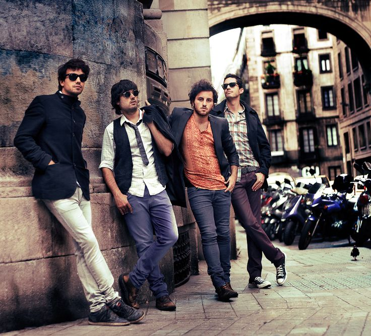 Fotografía promocional del grupo Puerta10, hecha por Jon Mart.  #Barcelona #Puerta10 #Fotografia