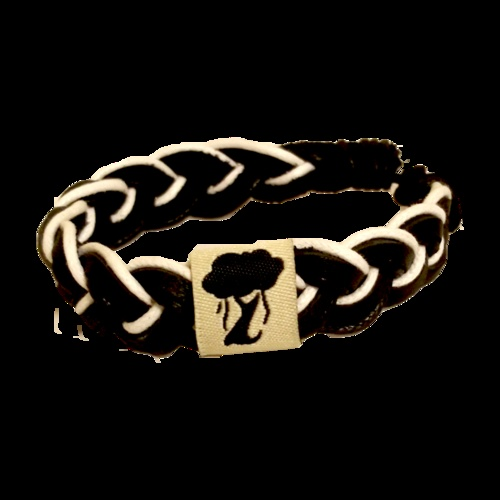 The Black/White Karma Bracelet. You buy a bracelet; we donate a textbook to a child in need. Get yours at http://www.jatalo.com/shop#ecwid:category=0=product=5855930. #jatalo #bracelet