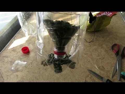Кормушка для птиц из пластиковой бутылки своими руками - YouTube