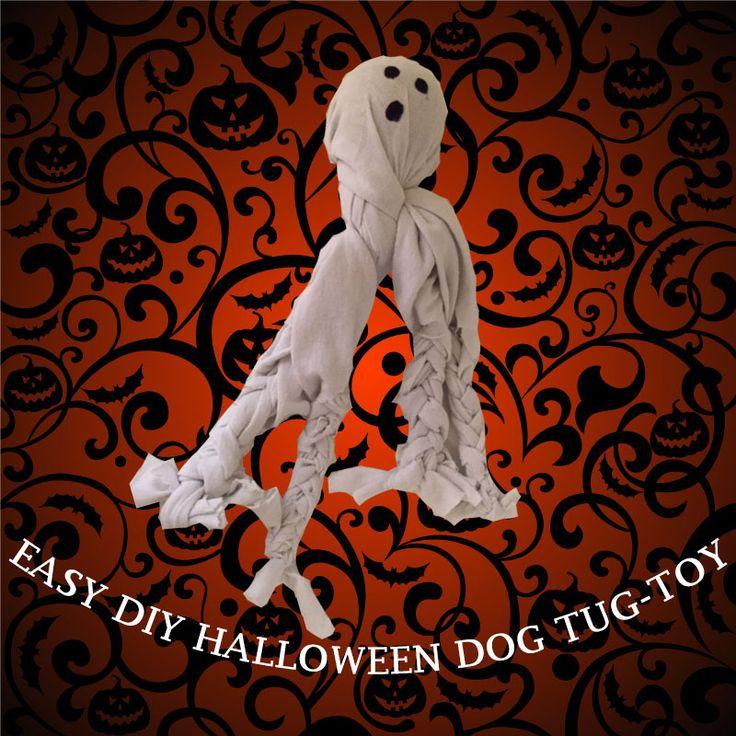 daisy the french bulldog diy halloween dog tug toy - Halloween Diy Projects