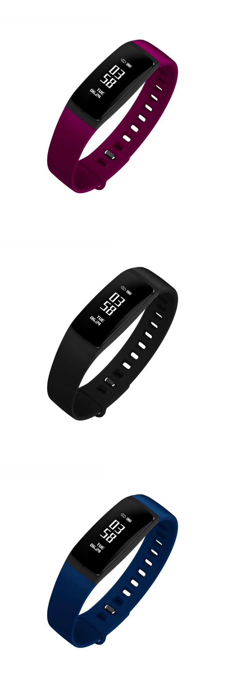 Small body big smart V07S fitness bracelt countdown Stopwatch alarm clocks Blood Pressure  Heart Rate Tracker smart wristbands