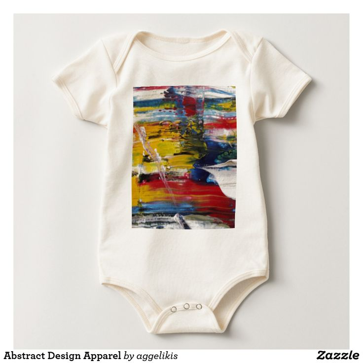 Abstract Design Baby Apparel