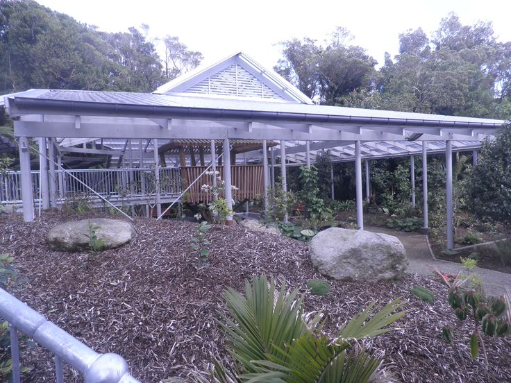 Some of the new work at Pukeiti.