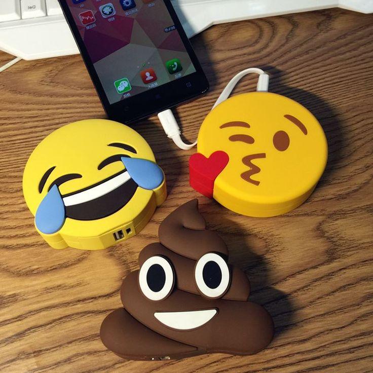 Original Funny Emoji Smiley Unicórnio Diabo Excrementos Power Bank 8800 mAh Bateria Externa Powerbank Carregador Portátil Para Celular em Banco Do poder de Telefones & Telecomunicações no AliExpress.com | Alibaba Group