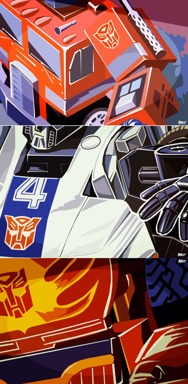 Prime, Jazz & Hotrod - Wouldn't these look great up on the wall somewhere?