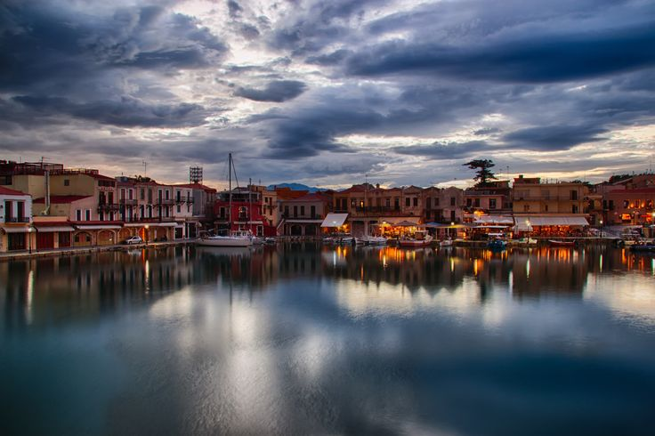 Old harbour, #Rethymno