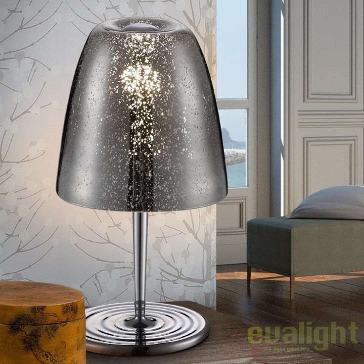 Lampa de masa / Veioza LED moderna QUASAR CHROME SV-436462  - Corpuri de iluminat, lustre, aplice