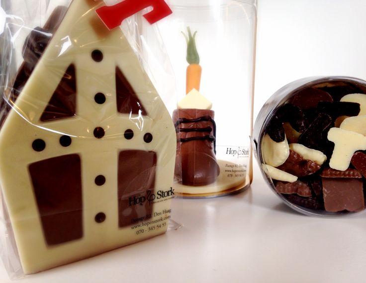 Vol verwachting klopt ons hart... #Sintcadeau #Chocolade #HopenStork