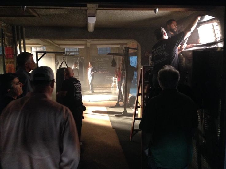 "Andrew Bikichky on Twitter: ""Training Gym set Ep803 Castle http://t.co/2lSflT3HOj"""