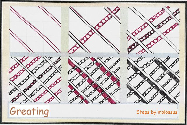 Greating - Pattern by molossus, via Flickr