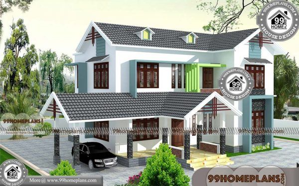 Home Design Kerala with 3D Elevations   Low Budget Two ...