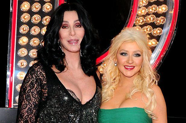 Christina Aguilera and Cher Shine on 'Burlesque' Soundtrack ...