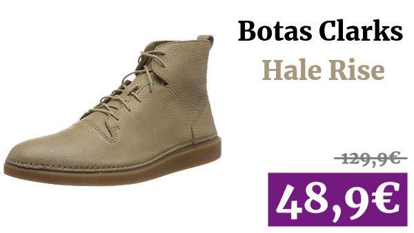 General Esperar algo conectar  Clarks Hale Rise Botas ✏ #vadegangas #Amazon | Clarks, Zapato de vestir  hombre, Botas clarks