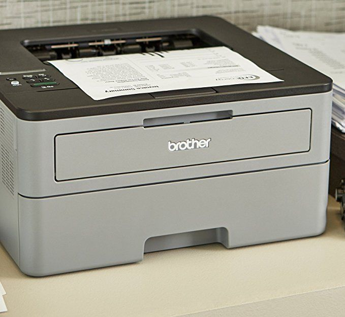 Amazon Com Brother Compact Monochrome Laser Printer Hl L2350dw Wireless Printing Duplex Two Sided Printing Amazon Laser Printer Printer Printing Business