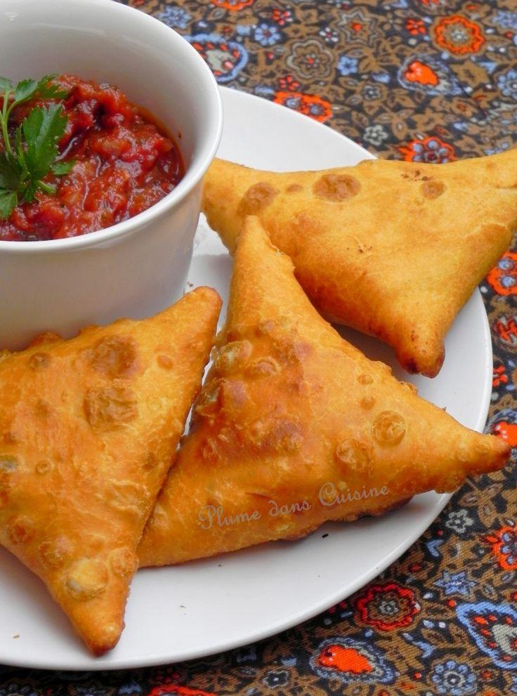 Samoussas indiens (végétarien)   Une Plume dans la Cuisine