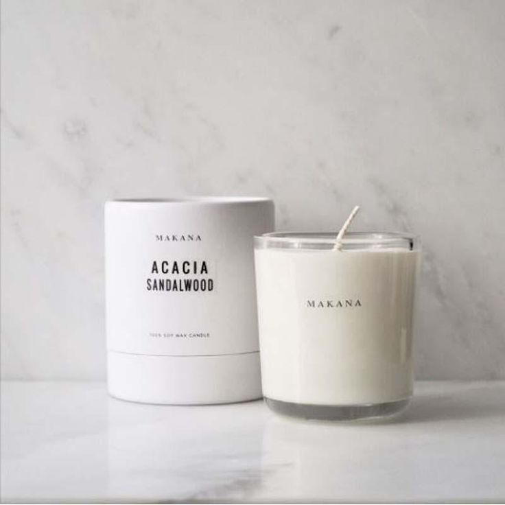 Acacia Sandalwood Candle