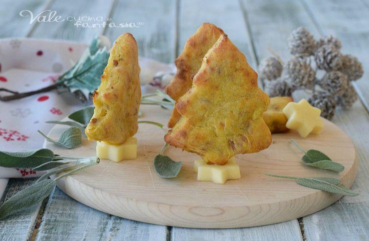 ALBERELLI DI TONNO E PATATE antipasto di Natale facile e velocissimo, gustosi e fatti con ingredienti semplici, cotti al forno e buonissimi