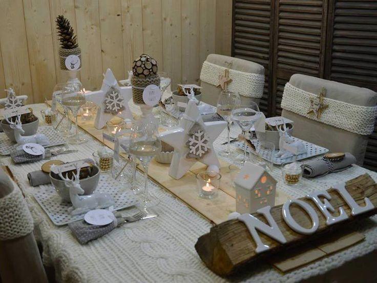Decoration table noel 2017 for Decor table de noel