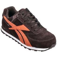 Reebok Shoes: Men's Brown RB1972 Leelap ESD Retro Jogger Steel Toe Shoes