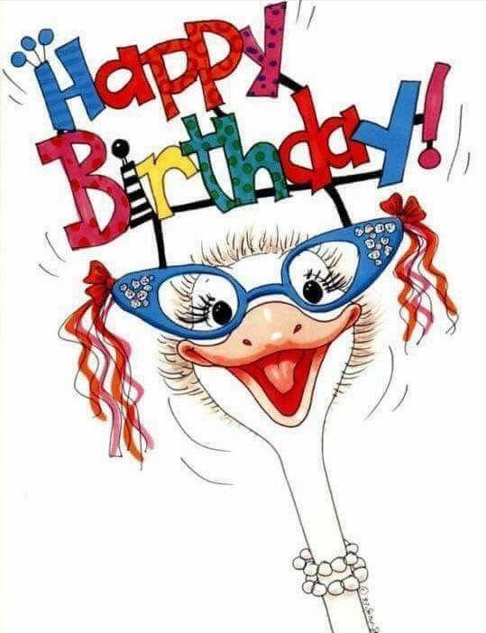 Happy Birthday Jackie's card