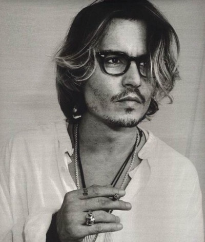 Johnny Depp, the height of man fashion