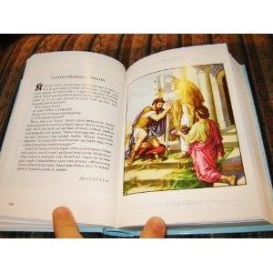 Estonian Children's Bible / PIIBLILOOD / Full Color, beautiful Children's Bible for Estonian language readers   $57.99