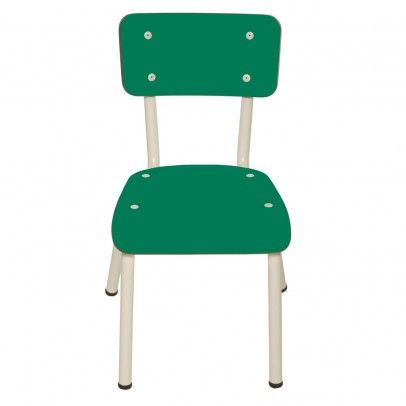 Les Gambettes Little Suzie child chair - tropical green - Kids' Furniture - Smallable