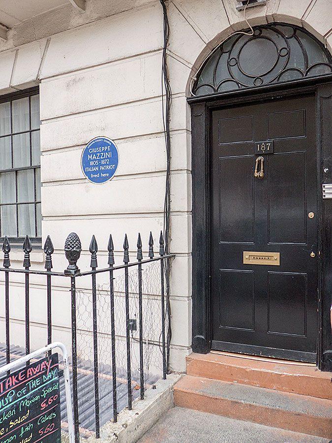 #Sherlock filming locations in London - 221b Baker Street (Actually N Gower Street, near Euston Station)