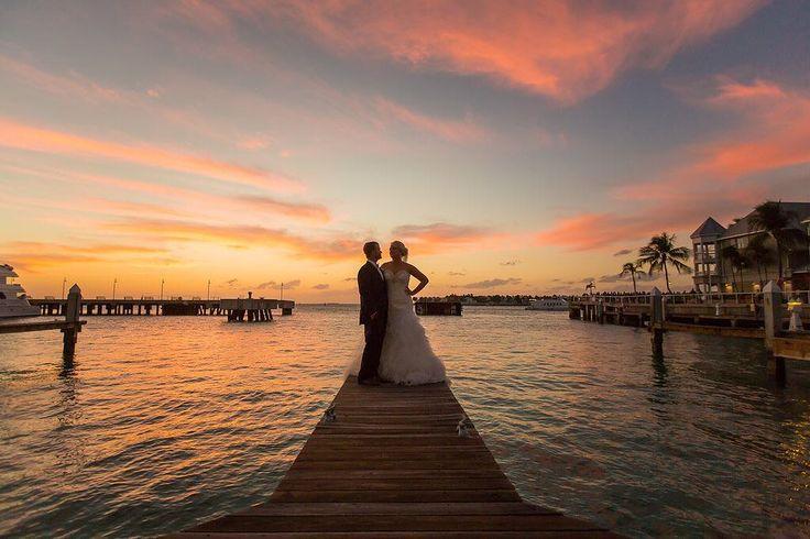 Eloping is what you're thinking? No problem we will help make that happen. #KeyWest still has beautiful #sunsets for an amazing natural backdrop. Contact us for your special date now!  #weddingplanning #weddingplanner #destinationweddings #elopement #keywestwedding #floridakeyswedding #southfloridaweddings #brideandgroom #newlyweds #sayido #getmarried #lifeofaweddingplanner : @brian_sumner