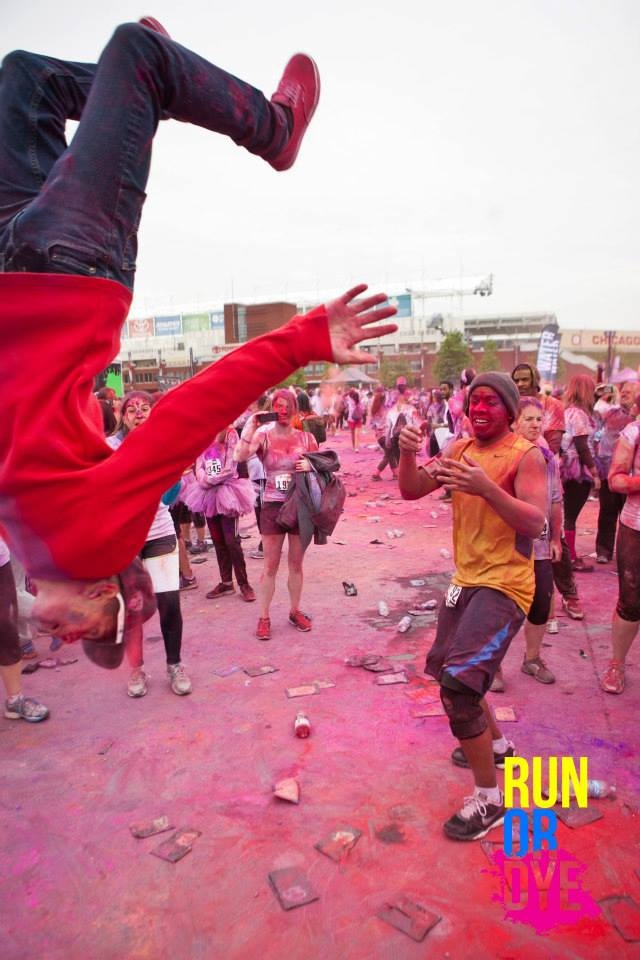 #Run or Dye Chicago - a great, #colourful #running event outex.com