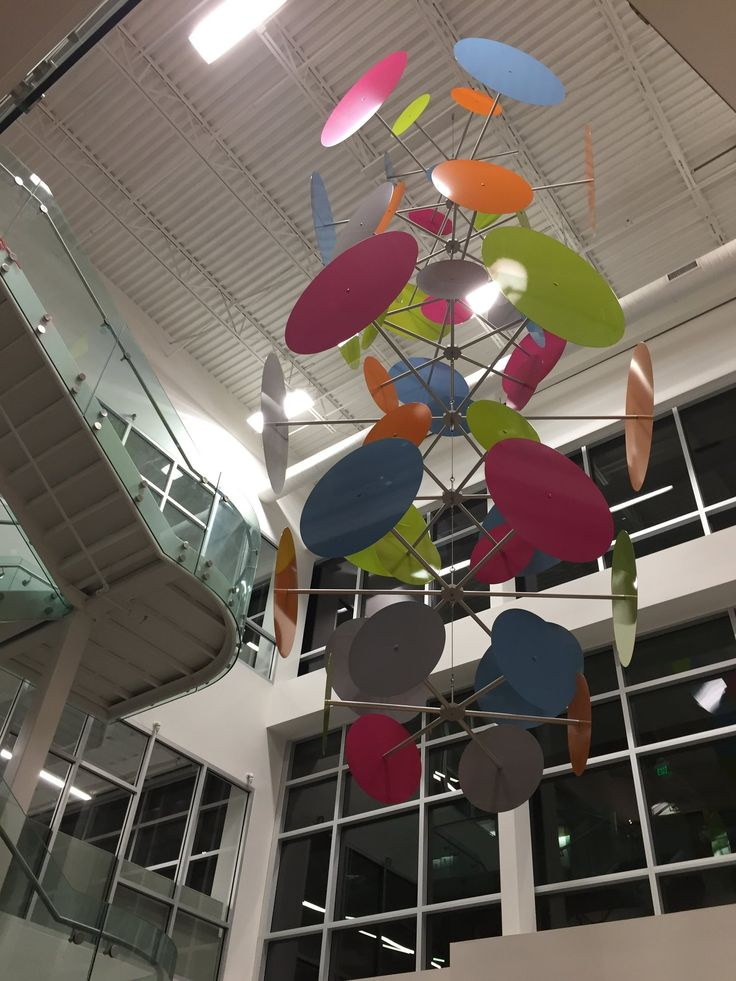 Ekko Mobiles Large Custom Hanging Mobiles Kinetic Art