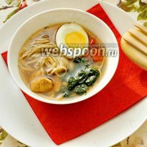 Японский суп с гречневой…