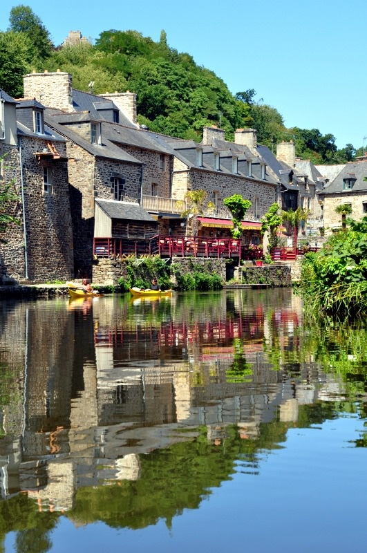 Dinan in Bretagne, France - close to Saint Malo