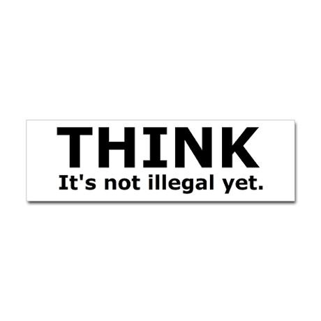 Think i have this bumper sticker