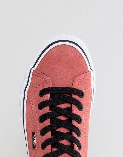 750c391feb83c3 Vans Lampin Unisex Sneakers In Pink