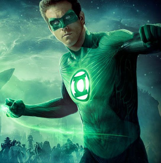 FAVORITE MOVIE SUPERHERO:  Ryan Reynolds as Green Lantern