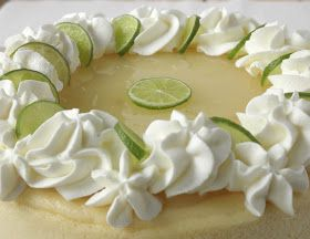 Food Pusher: Key Lime Cheesecake