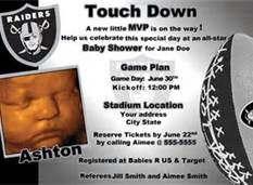 oakland raiders baby shower decorations - Bing Images