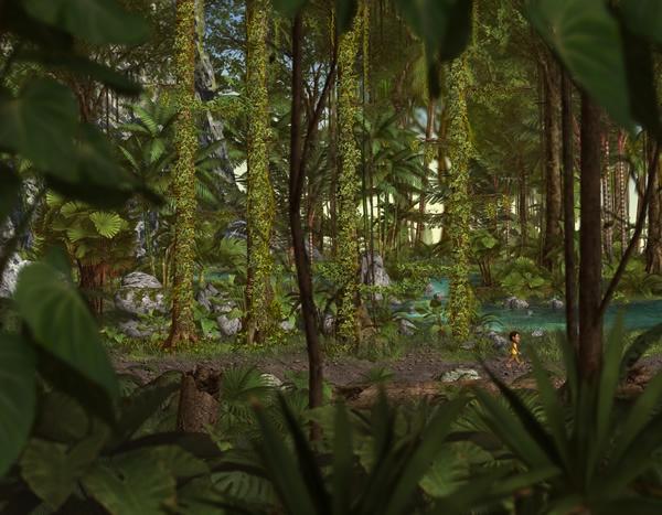 Perfect Earth Amazon Rainforest river bank