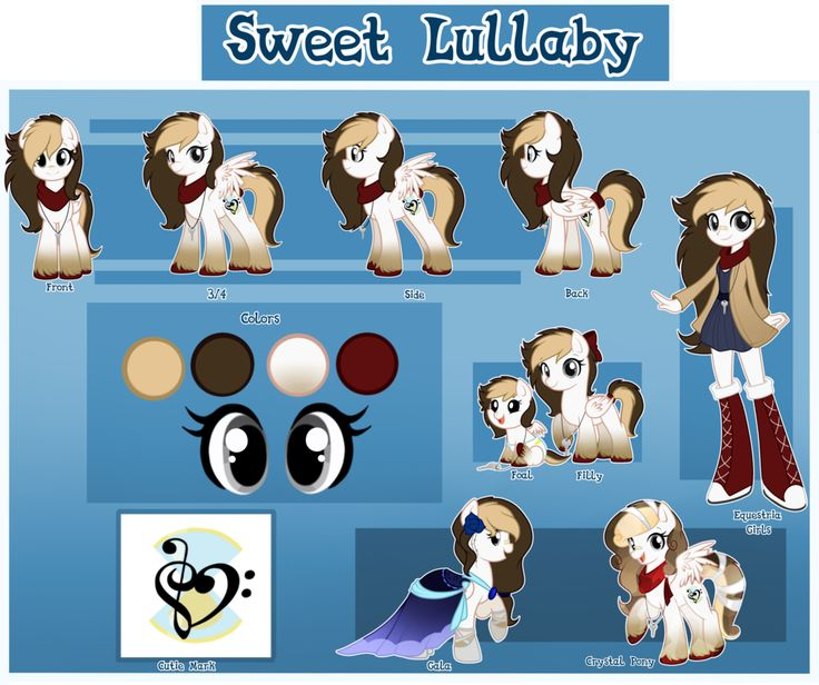 Sweet Lullaby Reference by hikariviny on DeviantArt