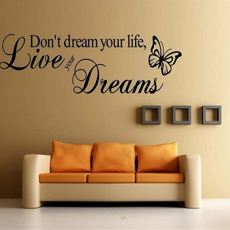 Live Your Dreams 57x15cm Wall Sticker   Free Worldwide Shipping!  Only $4.07    Order from: www.happycozyhome.com
