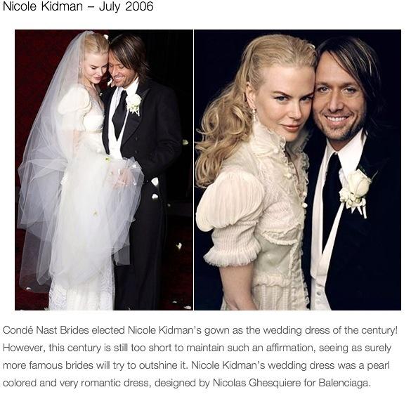 Nicole Kidman And Keith Urban On Their Wedding Day